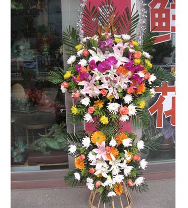 上海-祭奠鲜花1