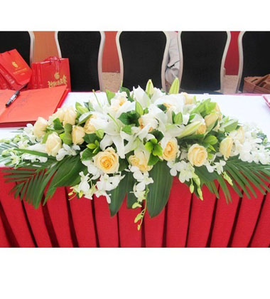 上海-桌花2