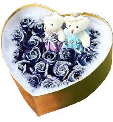 重庆-蓝色妖姬--花...