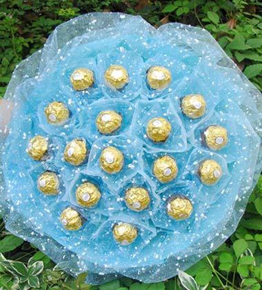 上海-巧克力花束B