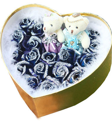 长沙-蓝色妖姬--花...