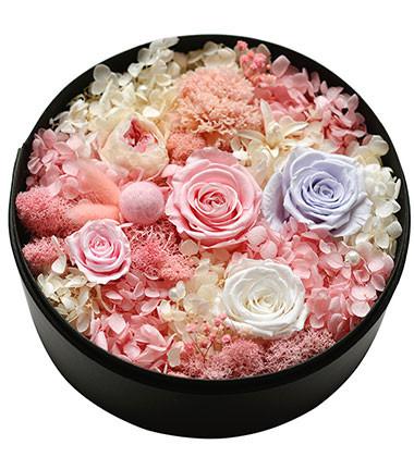 上海-永生花盒--粉...