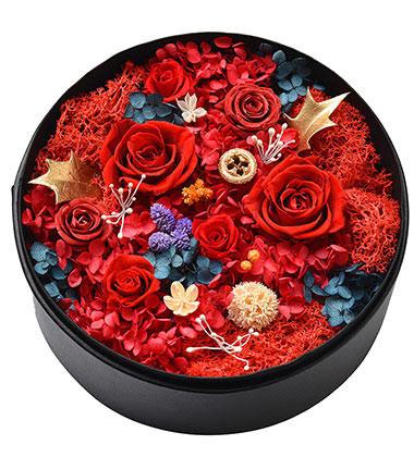上海-永生花盒--红...