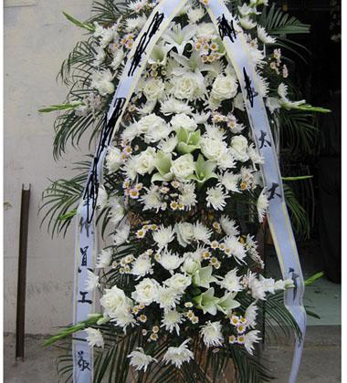上海-祭奠鮮花3