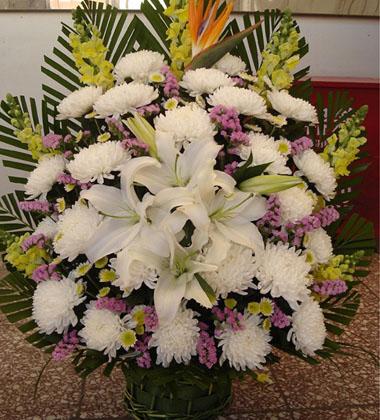上海-祭奠鮮花11