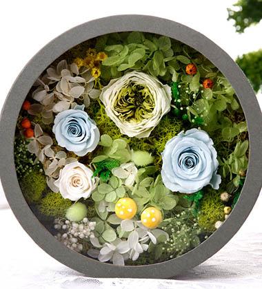 上海-永生花盒--绿...