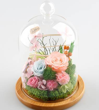 上海-特色永生花-H