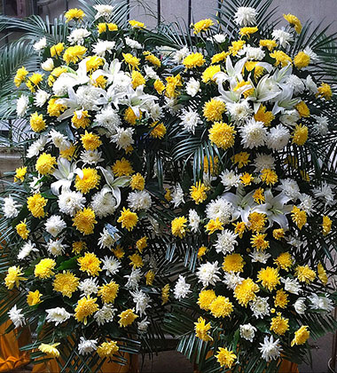 上海-祭奠鮮花12