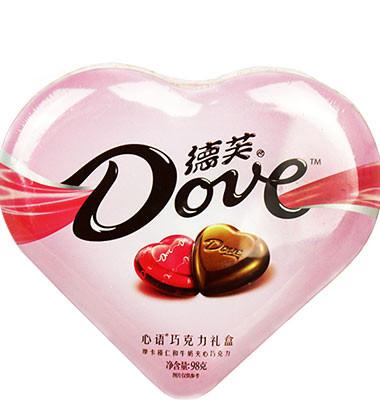 上海-德芙心形巧克力...